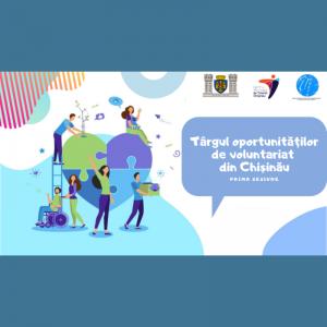 Târgul oportunităților de voluntariat din Chișinău